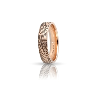 Rose Gold Engagement Ring Mod. Seychelles mm. 5