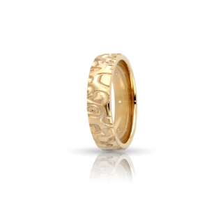 Yellow Gold Engagement Ring Mod. Nairobi mm. 5