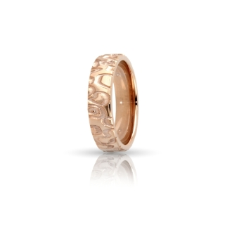 Rose Gold Engagement Ring Mod. Nairobi mm. 5