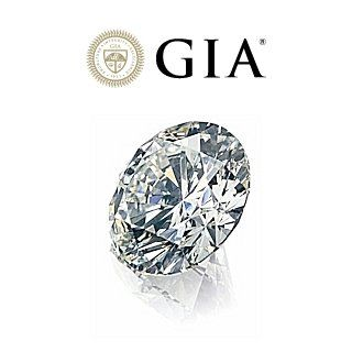 Diamante Naturale Certificato GIA Kt. 0,30 Colore G Purezza IF