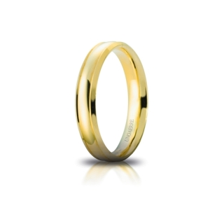 UNOAERRE Wedding Ring in 18k Yellow Gold mod. Orion