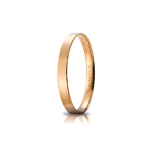 UNOAERRE 18Kt Yellow Gold Engagement Ring Mod. Gelsomino