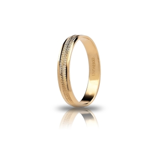 UNOAERRE 18Kt Yellow Gold Engagement Ring Mod. Dalia