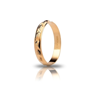 UNOAERRE 18Kt Yellow Gold Engagement Ring Mod. Verbena