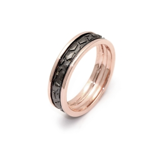 Rose Gold Engagement Ring Mod. Lisbona mm. 5,8